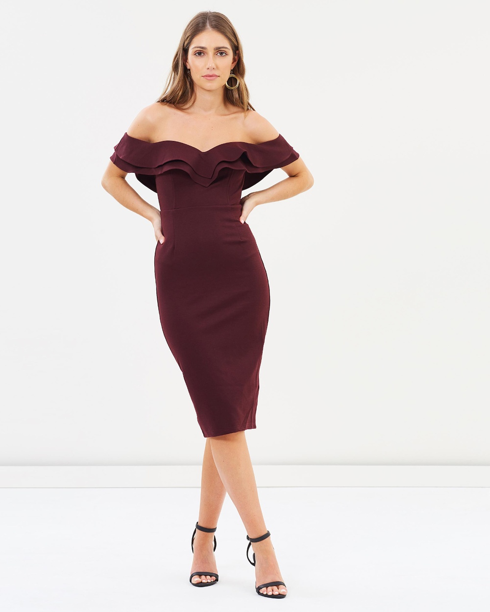 Fresh Soul Love Affair Dress Dresses Burgundy Love Affair Dress