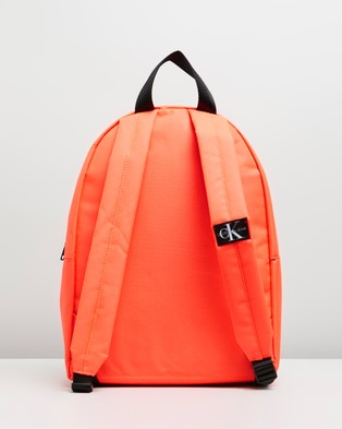Calvin Klein Jeans Institutional Logo Backpack - Backpacks (Fiery Coral)