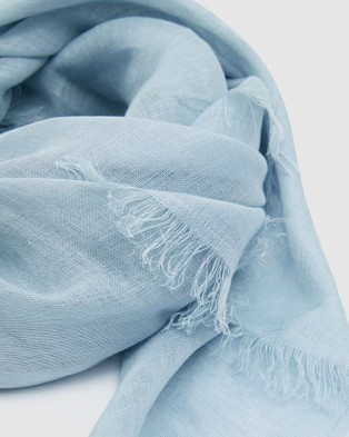 Cloth & Co. Hand Loomed Linen Scarf - Scarves & Gloves (Nordic)