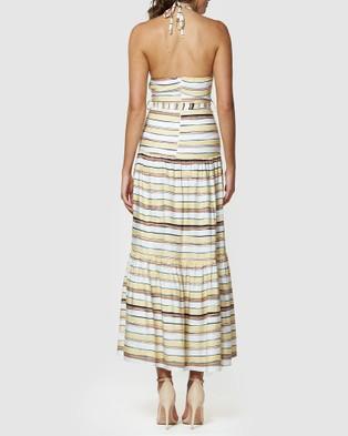 Amelius Sunset Maxi Dress - Printed Dresses (Multi)