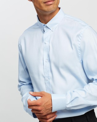 Justin Cassin Perry Shirt - Shirts & Polos (Blue)