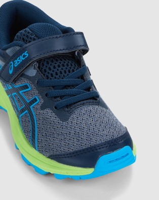 ASICS GT 1000 10 Pre School - Lifestyle Shoes (French Blue/ Digital Aqua)