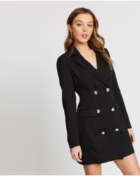 Missguided - Double Breasted Blazer Dress