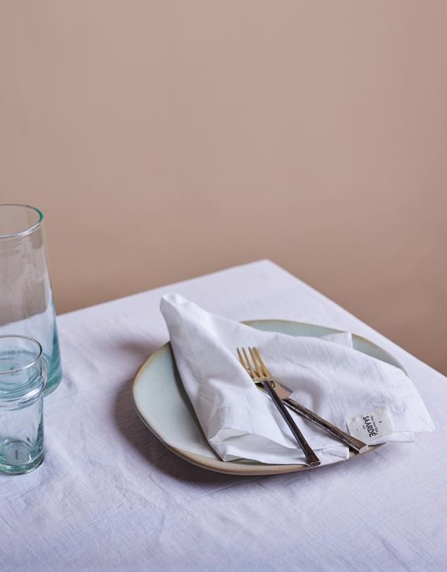 Life Shore Linen Napkins - Set of 2