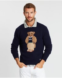 Polo Ralph Lauren - Long Sleeve Wool Crew Neck Knit