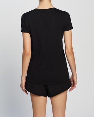 2XU XCTRL SS Tee - Short Sleeve T-Shirts (Black/Black)