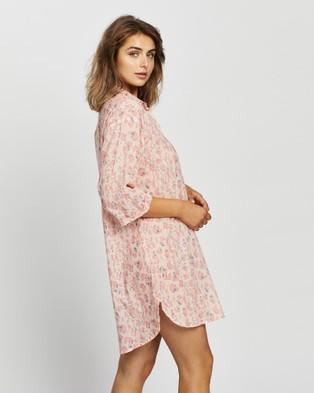 Papinelle Cheetah Nightshirt - Sleepwear (Pink)