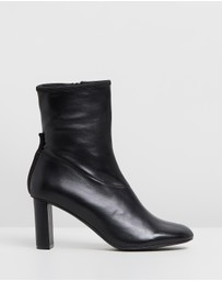 Joseph - Leather Heeled Boots
