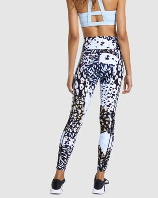 Rockwear Urban Jungle Print Pocket Full Length Tights - Full Tights (URBAN JUNGLE)