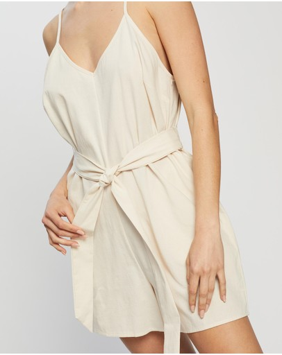 Atmos&Here - Rory Linen Blend Playsuit