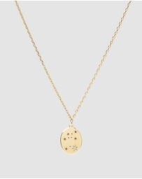 Luna Rae - Solid Gold - Stars of Aquarius Necklace