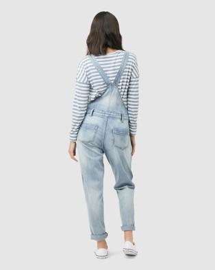 Ripe Maternity Denim Overalls - Jumpsuits & Playsuits (Blue)