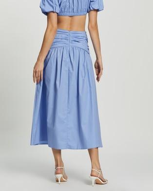 Dazie Holly Midi Skirt - Skirts (Blue)