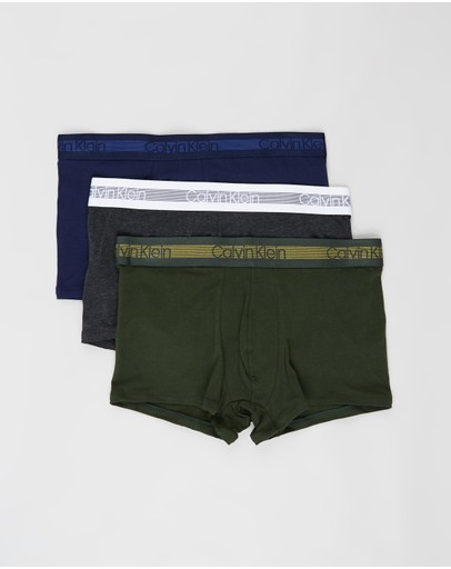 Calvin Klein - 3-Pack Cooling Cotton Trunks