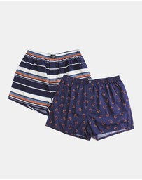 Coast Clothing - Palms Boxer 2 Pack
