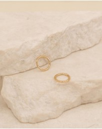By Charlotte - 14K Gold Purity Sleepers