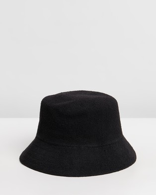 Kangol Bermuda Bucket Hat - Hats (Black)