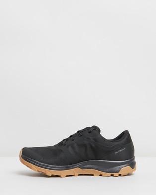 Salomon Outbound GTX Shoes   Women's - Walking (Black, Black & Gum1a)