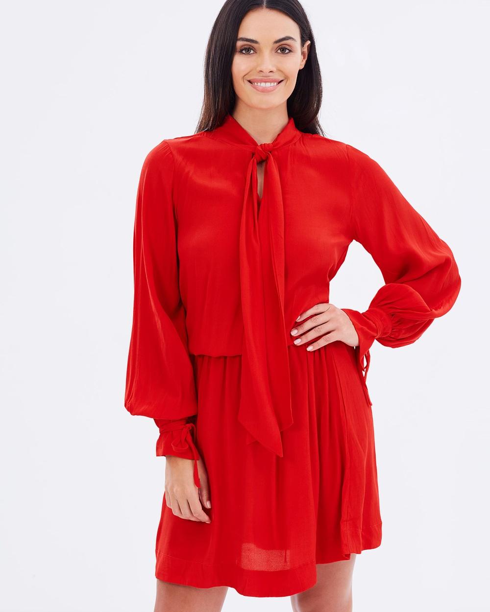 S-W-F Avalon Dress Dresses Red Avalon Dress