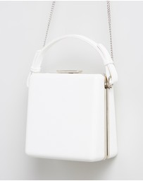 Olga Berg - Ashley Saffiano Top Handle Bag