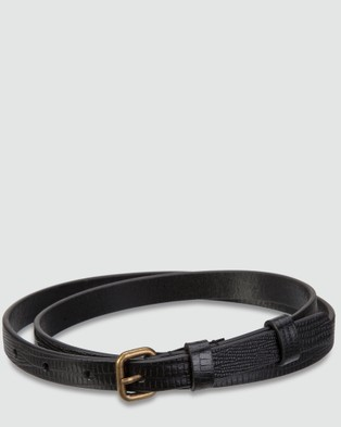 Status Anxiety Leather Belts
