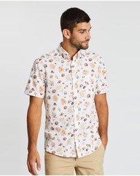 Sportscraft - Reef Print Short Sleeve Shirt
