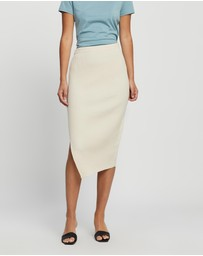 Theory - Twisted Rib Skirt