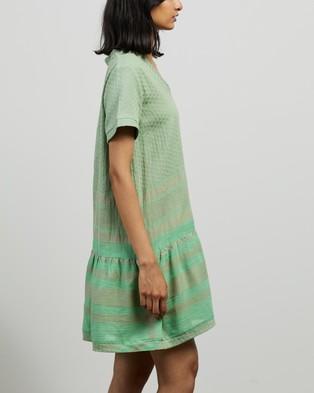 Cecilie Copenhagen Dress 2 V SS - Dresses (Minty)