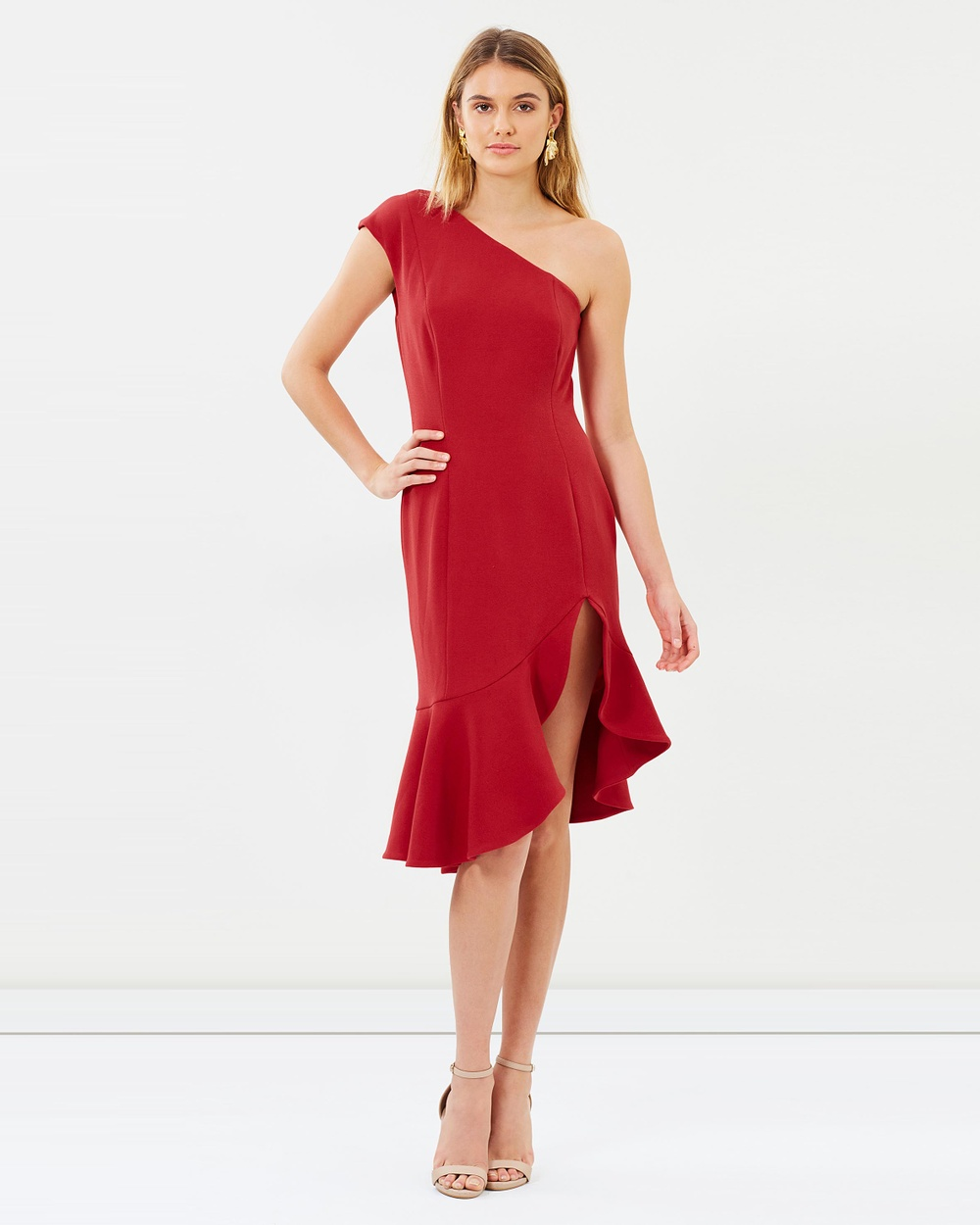 Keepsake the Label Red Mirrors Dress