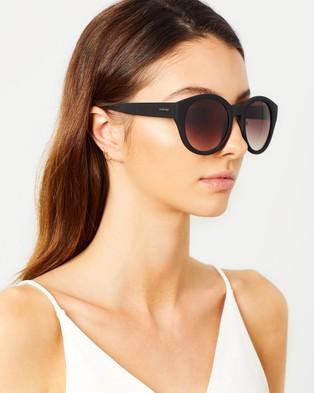 MINKPINK Paparazzi - Sunglasses (Black & Smoke Gradient)