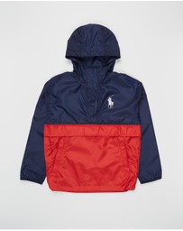Polo Ralph Lauren - Performance Pullover Ripstop Jacket - Teens