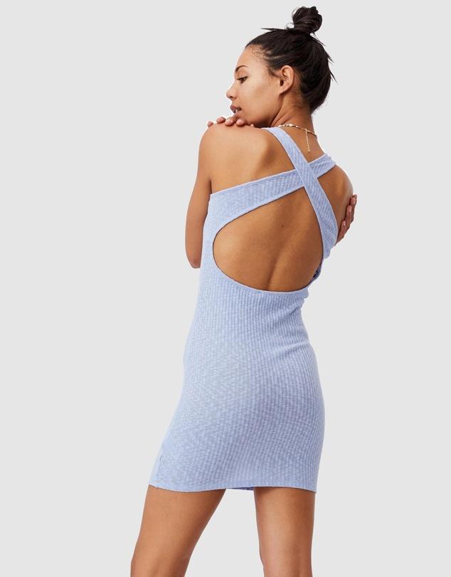 Women Tyra Cross Back Mini Dress