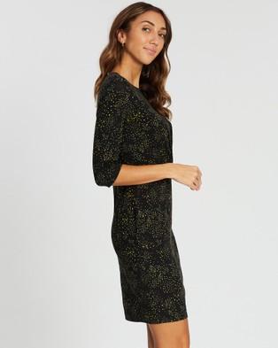 Marcs - Scattering Ve Dress - Printed Dresses (BLACK MULT) Scattering Ve Dress