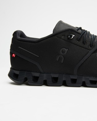 On Running Cloud   Men's - Performance Shoes (All Black)