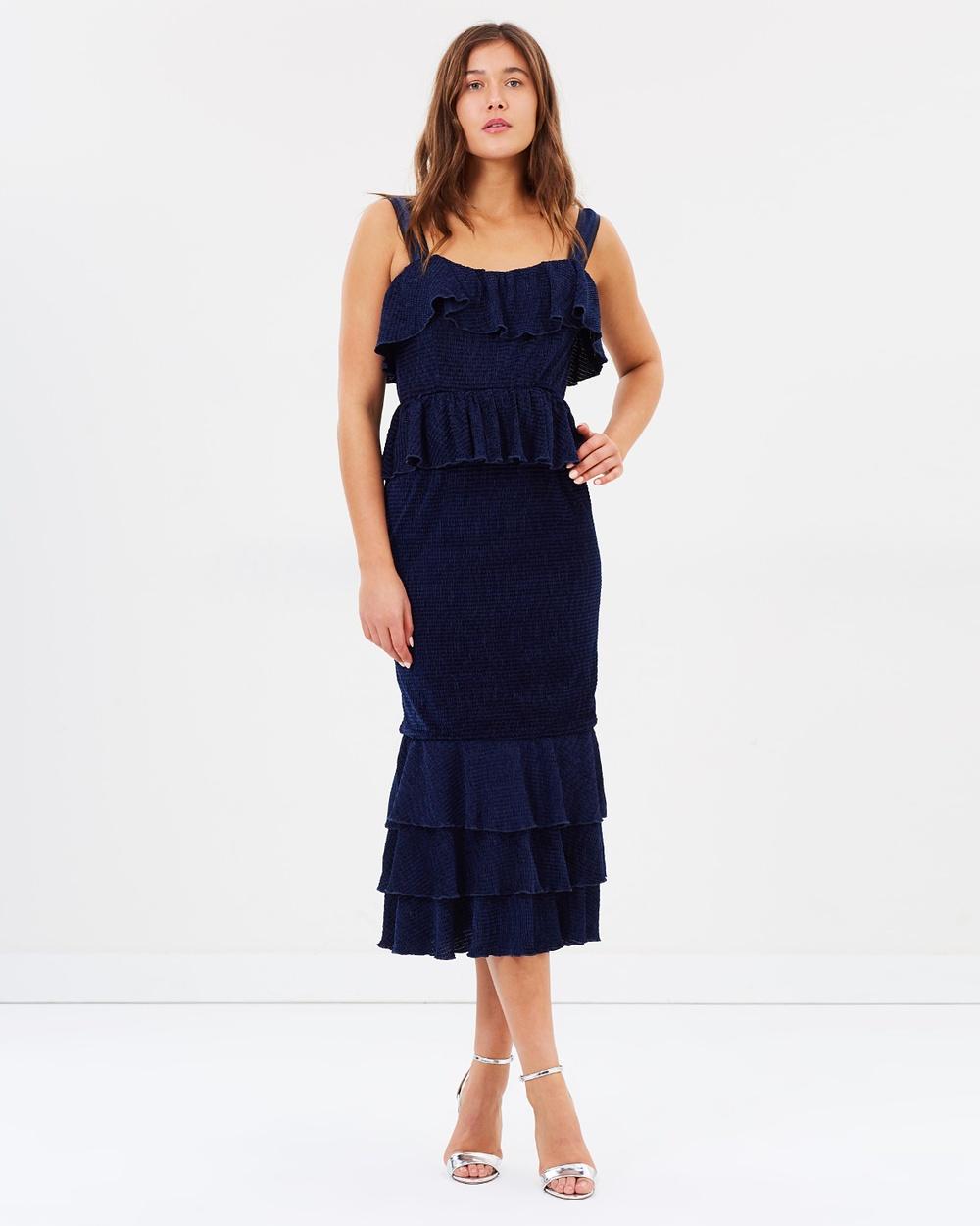 Atoir Trust Fund Dress Dresses Indigo Trust Fund Dress