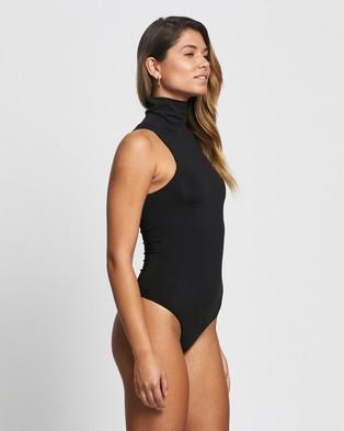 Atmos&Here Matilda Turtle Neck Bodysuit - Bodysuits (Black)