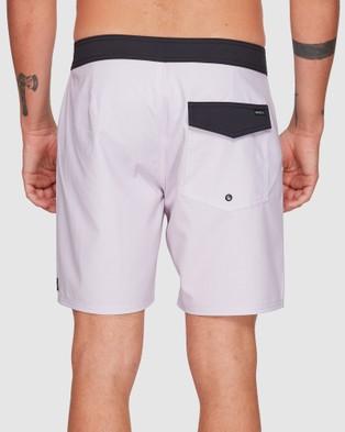 RVCA Ed Templeton Boardshorts - Swimwear (PALE LILAC)