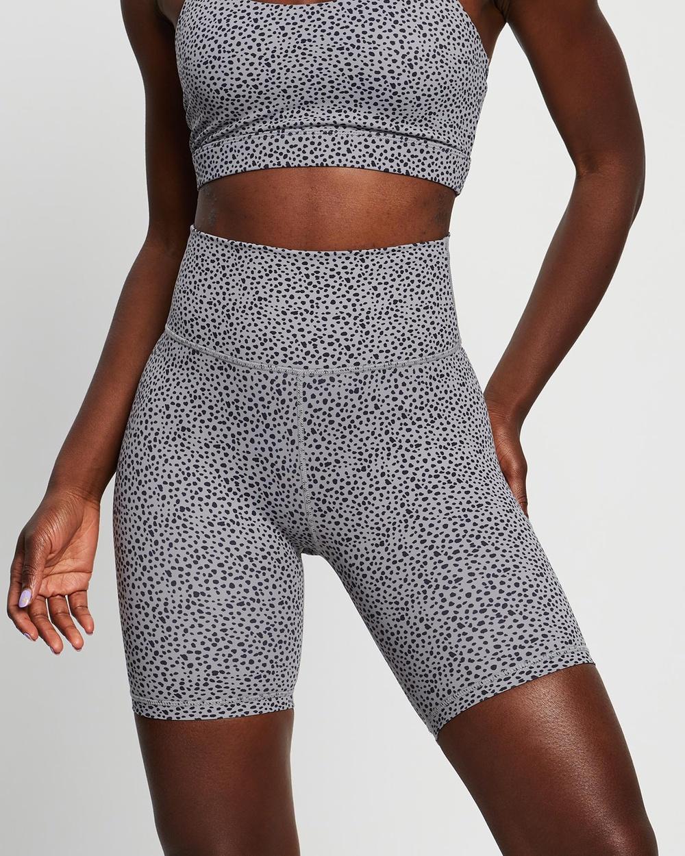 All Fenix Kira Bike Shorts 1/2 Tights Grey