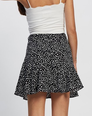 All About Eve Whitney Mini Skirt Skirts PRINT