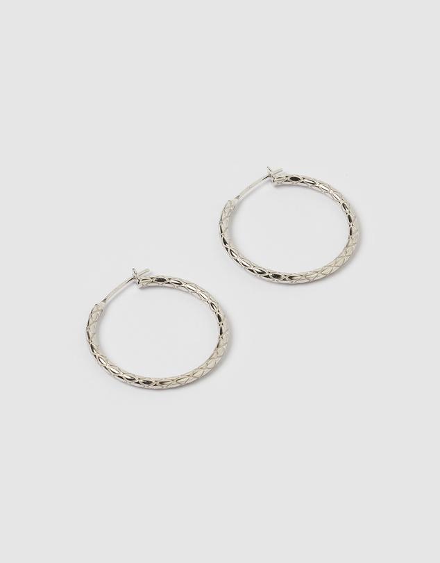 Women Emi Rope Hoop Earrings