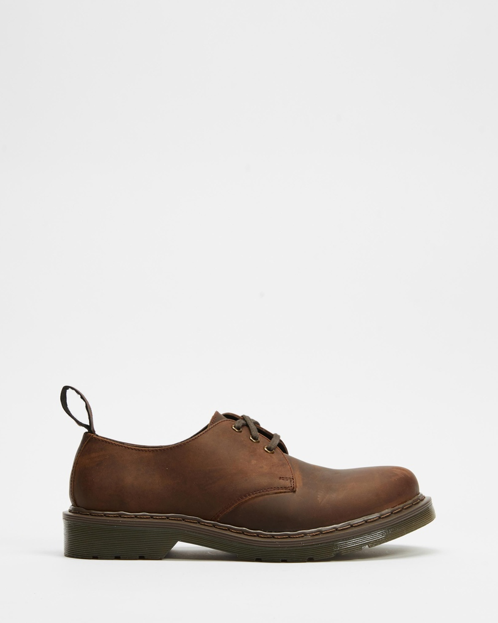 AERE Leather Shoes Dress Brown