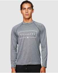 Billabong - Union Rf Long Sleeve Rash Vest
