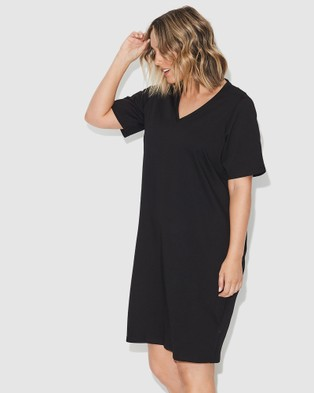 17 Sundays Tee Dress - Dresses (Black)