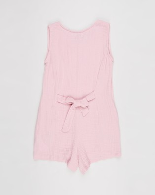 Free by Cotton On Monique Playsuit   Teens - Jumpsuits & Playsuits (Marshmallow)