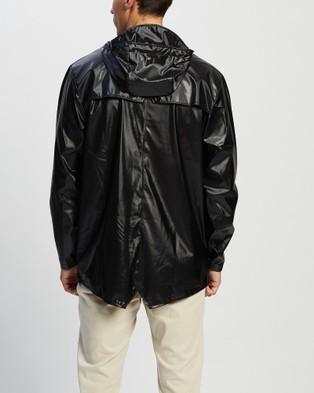 RAINS Jacket - Accessories (Shiny Black)