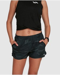 RVCA - Womens Yogger Stretch Shorts