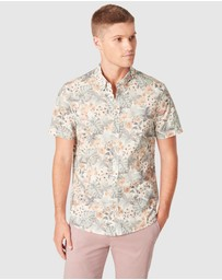 French Connection - Flamingo Regular Fit Shirt