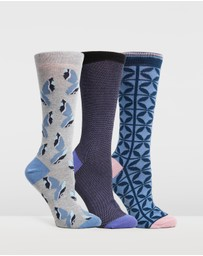 Ted Baker - lonicer 3-Pack Sock Set