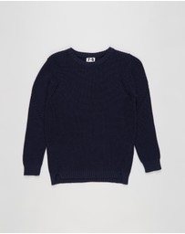 Cotton On Kids - Blair Knit Crew - Kids-Teens
