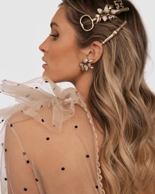 Kitte Concerto Barrette - Hair Accessories (Gold)